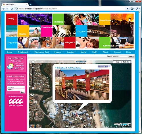 Broadbeach Virtual Tour Map
